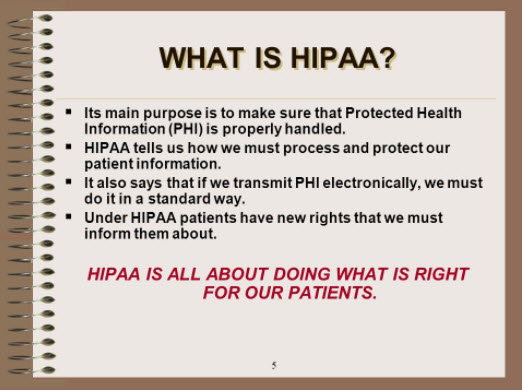 HIPPA Protects Your Medical Information And Health Records